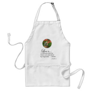 Love is a Canvas Adult Apron