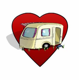 Love Is.. a Caravan Standing Photo Sculpture