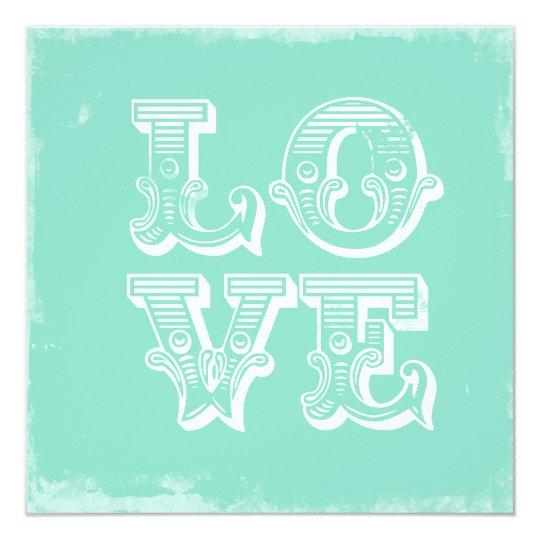 LOVE IS A CIRCUS FLAT CARD