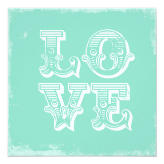 LOVE IS A CIRCUS FLAT INVITATION
