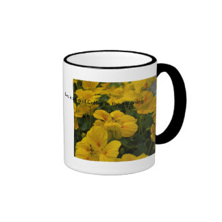 Love is a Cup of Coffee in t... Ringer Coffee Mug