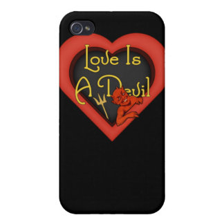 Love Is A Devil iPhone 4/4S Cover