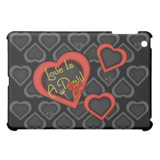 Love Is A Devil Medley iPad Mini Cases