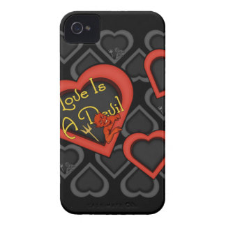 Love Is A Devil Medley iPhone 4 Case