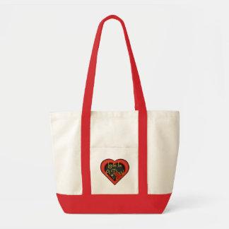 Love Is A Devil Tote Bag