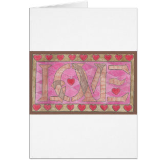 Love is a four letter word cards