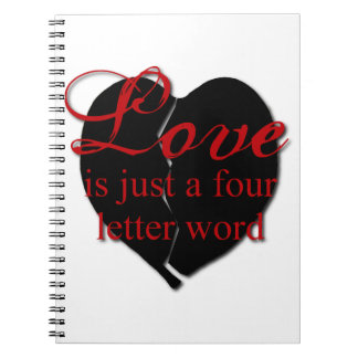 Love Is A Four Letter Word Journals