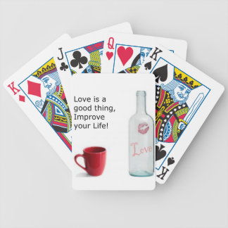 love is a good thing v2.png bicycle playing cards