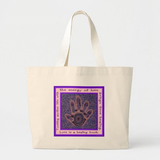 Love is a Healing Touch Bag