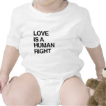 LOVE IS A HUMAN RIGHT T-SHIRTS