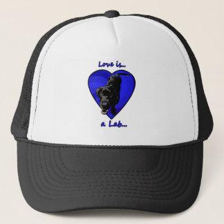 Love is a Lab Trucker Hat