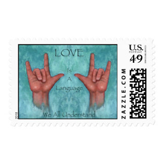 Love Is A Language We All Understand: ASL Stamps