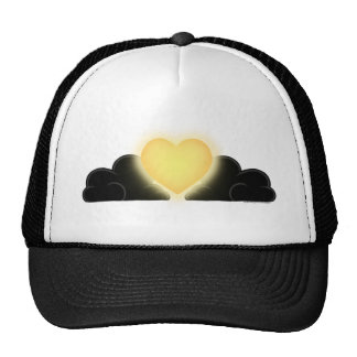 Love Is A Light In The Darkness - Yellow Heart Trucker Hat