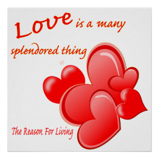 Love is a many Splendored Thing, Poster