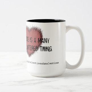 Love is a Many Splintered Thing mug
