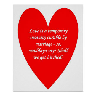 love-is-a-temporary-insanity-curable-by-01 poster