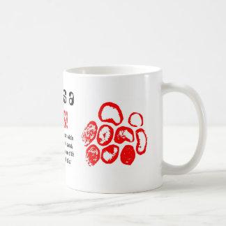 Love is a, VIRUS!, Classic White Coffee Mug