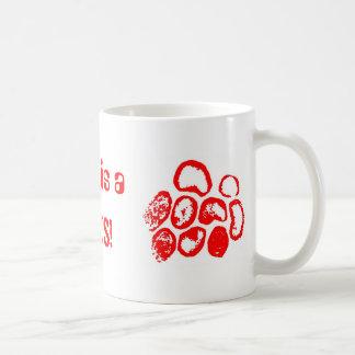 Love is a, VIRUS! Classic White Coffee Mug