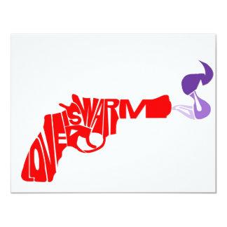 Love is a warm gun card