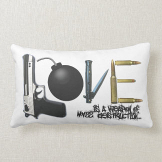 Love is A Weapon Pillow