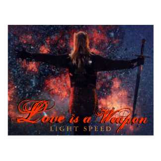 Love is a Weapon- Post Card