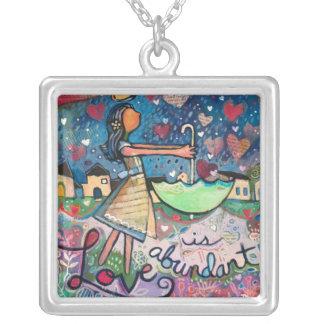 Love Is Abundant Valentine Necklace