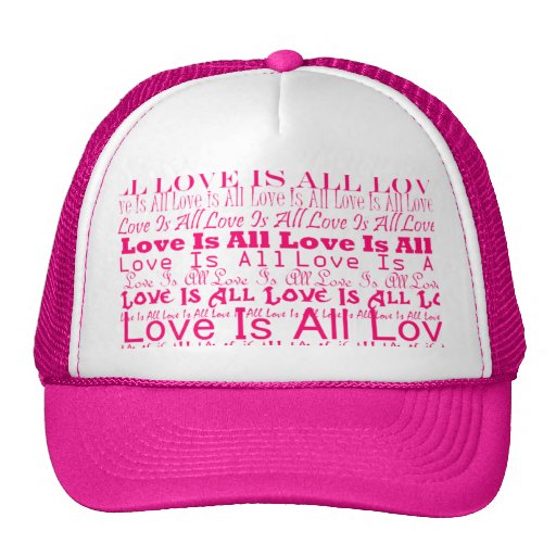 Love Is All/All Love Is Hat
