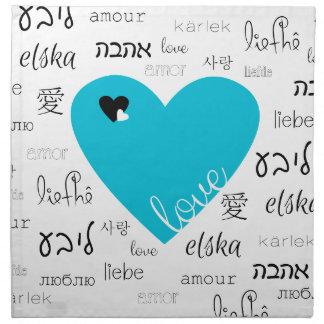 Love is All Around Napkin