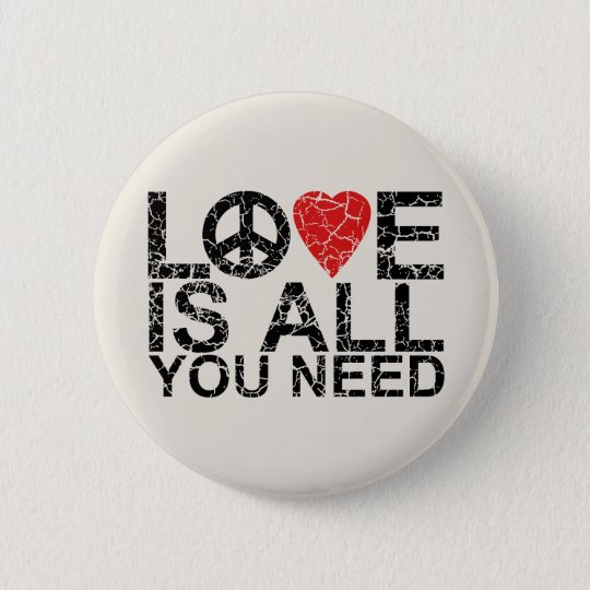 Love is All Pinback Button