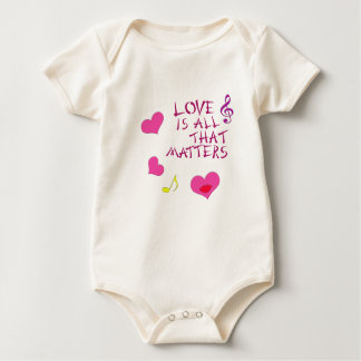 Love is all that matters baby bodysuit