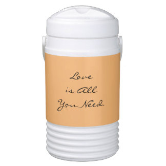 """""""Love is All you Need"""" Beverage Cooler"""
