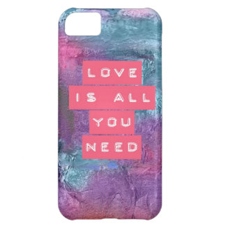 LOVE IS ALL YOU NEED CASE FOR iPhone 5C