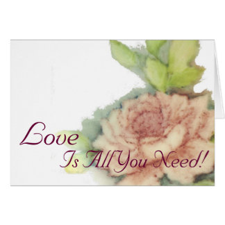 Love Is All You Need!-Customize Card