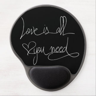 Love is all you need gel mouse pad
