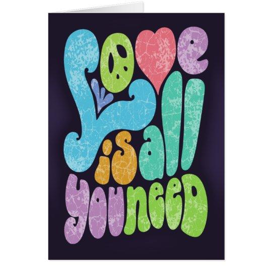 Love is All You Need II Card