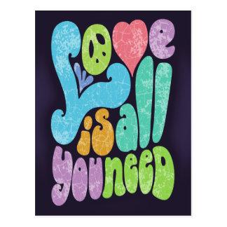 Love is All You Need II Postcard