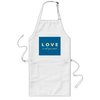 Love Is All You Need Mod Barbeque Apron