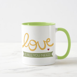 love is all you need mug