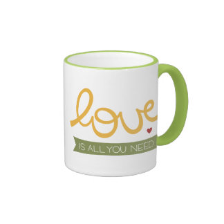 love is all you need coffee mugs