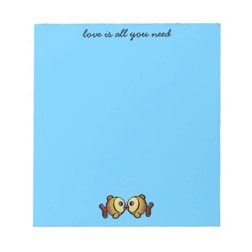 love is all you need memo pad