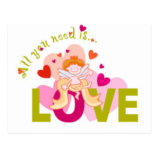 Love is All You Need Post Card