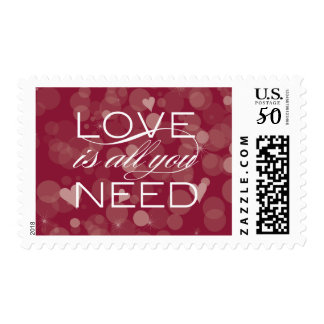 Love is all you need postage