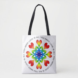 Love is All You Need Pride Tote Bag