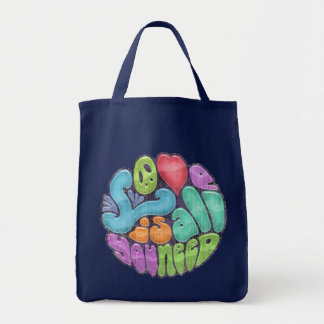 Love Is All You Need -rnd Canvas Bags