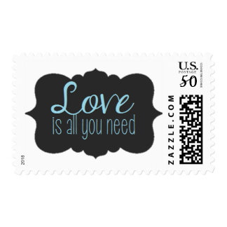 Love is all you need stamp