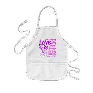 Love Is ... apron - choose style & color