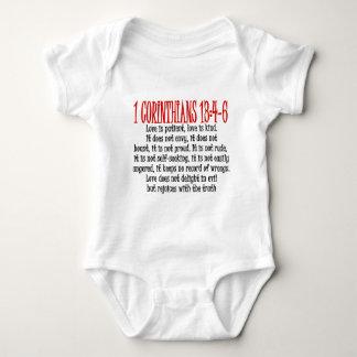 Love is baby bodysuit