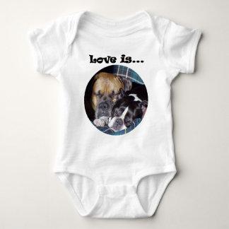 Love Is... Baby Bodysuit