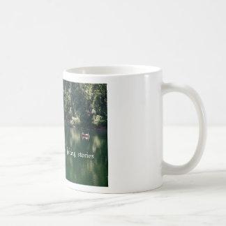 Love is Believing his fishing stories Coffee Mug