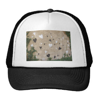 Love Is Black And White Trucker Hat